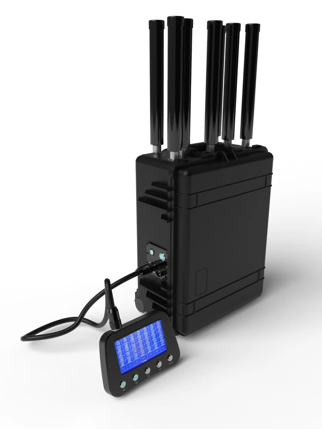 排爆、无人机拦截,警务活动中这个装备少不了——新品多功能5G干扰仪(组图)