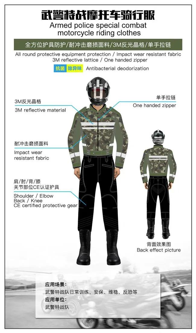 新品   有别于警服!一线军警的功能性战斗服可是又美又飒(组图)
