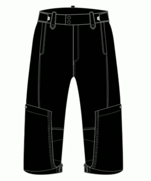 多功能折叠骑行裤---国家高新技术企业人本国际专为广大摩友夏季摩旅匠心研发(附视频)